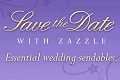 Zazzle Save the Date link