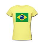 Brazil Flag Tshirt