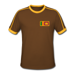 Sri Lanka Pocket Flag Tshirt